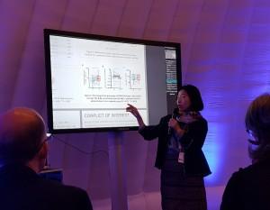 CJ제일제당이 6월 20일 핀란드 헬싱키에서 열린 2017 유럽알레르기학술대회에서 김치유산균 CJLP133 섭취 시 아토피 피부염 어린이에 대한 임상효능을 주제로 발표했다