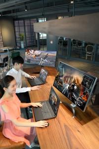 LG전자가 게임에 최적화된 고성능 노트북과 모니터를 출시했다