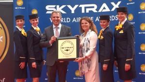 루프트한자 독일항공이 2017 유럽 최고 항공사로 선정됐다