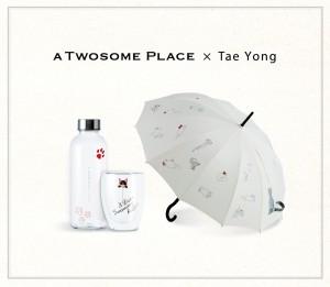 투썸플레이스가 CJ오쇼핑 셀렙샵의 컬처브랜드 씨이앤, 패션 디자이너 고태용과 협업한 여름 한정 MD 상품 3종을 출시했다