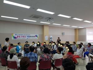 통일교육협의회 여성분과가 통일대화 및 토론회를 개최했다