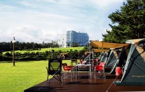 서귀포칼호텔이 본격적인 캠핑 시즌인 가을을 맞아 프리미엄 캠핑 바비큐를 새롭게 단장했다