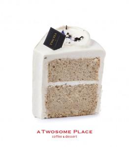 투썸플레이스가 가을을 맞아 더치솔티드카라멜, TWG로얄밀크티시폰 등 케이크 신제품 2종을 선보인다