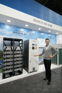 삼성전자가 2017 대한민국 에너지대전서 최첨단 B2B 에너지 솔루션을 선보였다