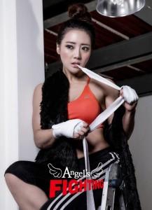 송효경 선수가 11월 27일 엔젤스파이팅05& 별들의 전쟁에 참가한다