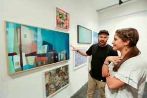 삼성전자가 영국 런던에서 더 프레임을 통한 예술작품 감상과 유통 확대에 본격적으로 나선다