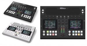 제이디사운드가 개발한 휴대용 디제잉 기기 GODJ Plus 제품