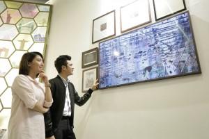 삼성전자가 필리핀에서 라이프스타일 TV 더 프레임을 출시하고 특별 전시관을 운영한다