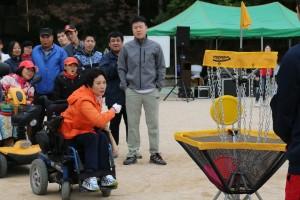 제13회 북부어울림체육대회'가 12일 중계동 노해근린공원에서 열렸다
