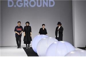 디그라운드 프로젝트가 실시한 2018 S/S 헤라서울패션위크 D.GROUND 패션쇼
