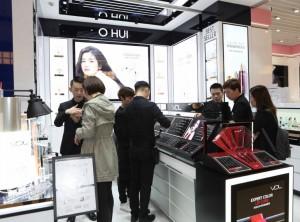 LG생활건강의 오휘, VDL, 빌리프 브랜드가 중국시장에 본격 진출했다