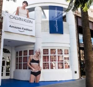 캘빈클라인이 아마존 패션과 함께 홀리데이 리테일 경험을 제공한다