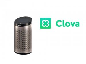 LG전자의 인공지능 스피커 씽큐 허브가 네이버 인공지능 플랫폼 클로바를 탑재했다