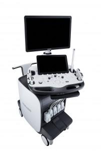 삼성이 영상의학과용 프리미엄 초음파 진단기기 RS85를 출시했다