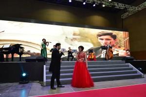 하나투어 여행박람회가 12월 1일부터 사흘간 부산 벡스코에서 개최된다. 사진은 지난 2017하나투어 여행박람회에서 진행됐던 비엔나 바로크 오케스트라 공연