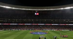 LG전자가 스페인 마드리드의 명문 축구단 아틀레티코 마드리드의 새로운 홈구장에 초대형 LED 전광판을 설치했다