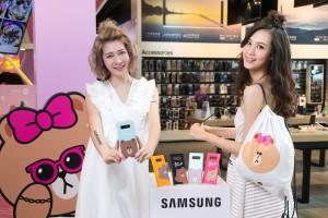 삼성전자가 대만에서 인기가 높은 글로벌 캐릭터 브랜드 라인프렌즈와 협력해 갤럭시 노트8 팝업 스토어를 운영한다