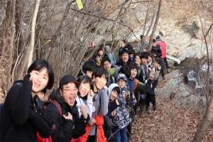 강서청소년회관이 '2018 국토순례오지 탐험단 겨울방학캠프 지리산 둘레길 종주' 프로그램을 운영한다.