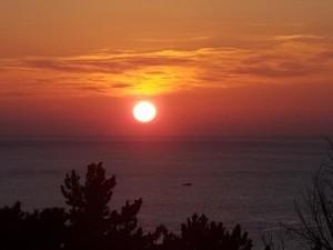 화악산여행사가 새해맞이 일출여행 상품을 출시했다. 사진은 동해 일출사진
