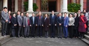 5일 충남연구원과 중국 상해교통대학이 2017 한중 사회적경제 국제세미나를 개최하고 기념사진을 찍고 있다