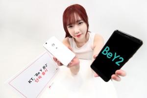 KT가 5일부터 직영 온라인 KT샵 및 전국 KT매장에서 합리적인 소비를 중시하는 젊은 세대를 위한 전용 단말 Be Y 폰 2를 공식 출시한다