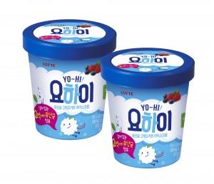 롯데제과가 요하이 아이스크림을 출시했다