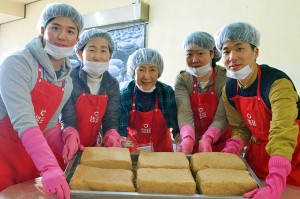 샘표가 12월 7일 세종전통장류박물관 뒤웅박고을에서 전통 메주 만들기 행사를 개최했다