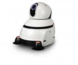 LG전자가 선보인 청소로봇이 국내 최고 권위 디자인상인 우수디자인에서 최고 영예인 대통령상을 수상했다. 사진은 LG전자 공항청소로봇