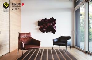 퍼시스가 이탈리안 스타일의 암체어 피우메타가 2017 굿디자인 어워드와 2017 핀업 디자인 어워드에서 각각 산업통상자원부장관상과 BEST OF BEST를 수상하며 2관왕을 달성했다
