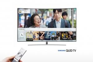 삼성전자가 컨텐츠 디지털 배급 사업자인 KTH과 협업해 삼성 스마트 TV로 유료영화 구매 서비스를 출시했다