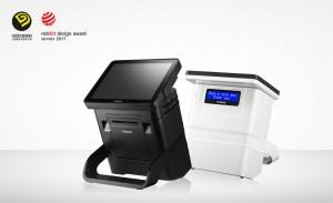 포스뱅크 올인원 POS 장비 DCR이 2017 굿디자인 어워드에서 국가기술표준원장상을 수상했다