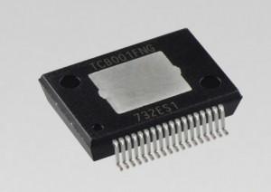 도시바 일렉트로닉 디바이스 앤 스토리지가 카 오디오용 표면 실장형 4채널 파워 IC 신제품 TCB001FNG를 출시했다