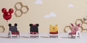 시디즈가 디즈니와 협업한 유아용 의자 디즈니 아띠를 출시했다