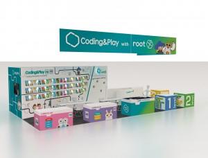 어린이 코딩 교육 전문 브랜드 코딩앤플레이가 1월 9일부터 12일까지 미국 라스베가스에서 열리는 CES 2018에 코딩 교육 서비스를 출품한다