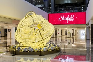 쇼핑테마파크 스타필드 하남·코엑스몰·고양 전 점이 다가오는 크리스마스를 맞아 15일부터 25일까지 11일간 로맨틱 홀리데이즈 인 스타필드 행사를 실시한다