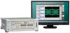 안리쓰가 BERTWave MP2110A 샘플링 오실로 스코프 업그레이드를 실시한다. 사진은 안리쓰 BERTWave MP2110A 제품