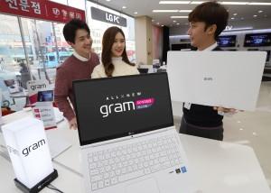 LG전자가 출시한 2018년형 LG 그램