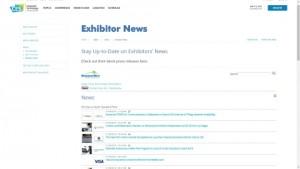 비즈니스 와이어가 전시업체 뉴스 아카이브를 통해 CES 2018 참가 전시 업체 뉴스와 온라인 보도자료를 속보로 제공한다