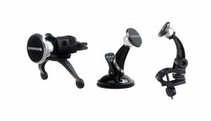 아이코모스가 차량용 릴타입 충전기 3종과 마그네틱 거치대 5종을 출시했다