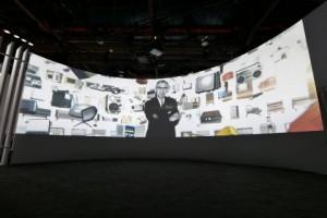 파나소닉이 CES 2018에서 창립 100주년 기념 전시회를 열었다