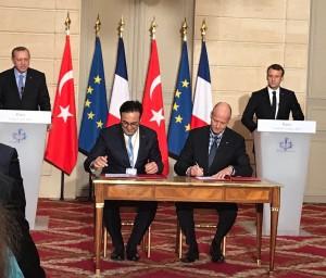 터키항공이 5일 에어버스와 A350-900 기종 25대 주문을 위한 양해각서를 체결했다