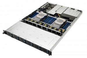 에이수스가 SPEC 서버·워크스테이션 벤치마크 테스트서 총 18개 부문 1위를 달성했다. 사진은 에이수스 랙 서버 RS700-E9 시리즈