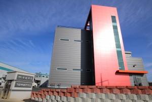 CJ프레시웨이가 송림푸드 제3공장 준공식을 열고 본격적으로 가동한다. 사진은 완공된 송림푸드 제3공장 외관