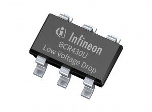 인피니언 테크놀로지스가 정전류 선형 LED 드라이버 IC BCR430U를 출시했다