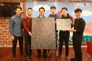 네키드윙즈가 사회복지법인네트워크 해피홈보육원에 펀드 파티 수익금을 기부했다