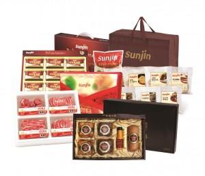 스마트 축산식품 전문기업 선진이 가심비를 저격하는 설 선물세트 20종을 선보였다