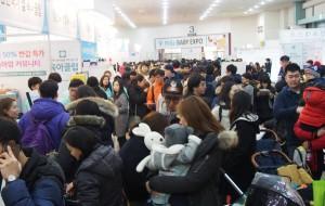 2017년 2월 세텍에서 진행된 미베 베이비엑스포