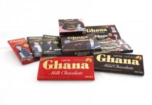 롯데제과 가나 초콜릿의 누적 매출액이 1조원을 돌파했다