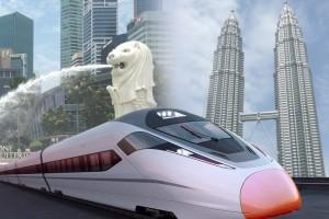 말레이시아 전문 기업 유원인터내셔널이 2월 3일부터 4일까지 벡스코에서 조호바루 투자 박람회를 개최한다. 사진은 싱가포르-쿠알라룸푸르 고속철도