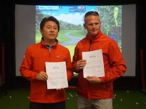 엑스페론골프가 미국 플로리다 올랜도에서 열린 2018 PGA GOLF SHOW에서 600만달러의 수주 계약을 체결하였다
